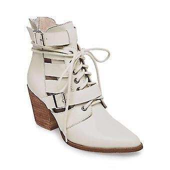 Steve Madden Donne Pale pelle chiusa Toe Ankle Fashion Stivali