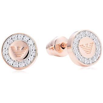 Emporio Armani - Pin Earrings - Silver Sterling 925 - Woman EG3054221