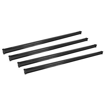 4 Steel Kargo Roof Bars For Volkswagen CRAFTER Bus 2016 Onwards (Fix Points)