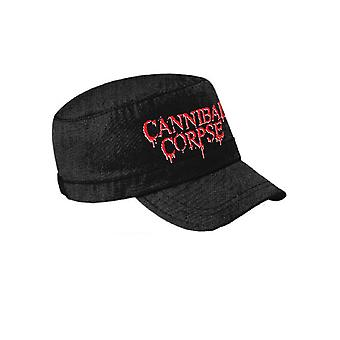 Cannibal Corpse Logo Official New Black Cadet Cap