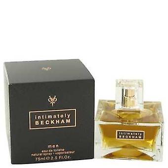 Intimately Beckham Por David Beckham Eau De Toilette Spray 2.5 Oz (hombres) V728-435233
