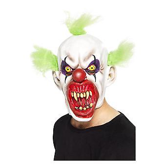 Mens unheimlichen Clown Maske Halloween Fancy Dress Zubehör