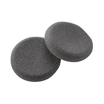 Plantronics Spare Ear Cushion (Qty 2), Foam, Black - Practica/Supra