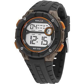 SINAR Youth Watch Wristwatch Digital Quartz Unisex Silicone Strap XE-56-9