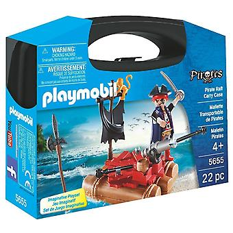 Playmobil 5655 Pirate Raft Carry Case - Small