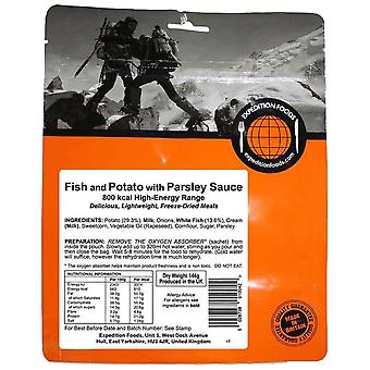 Expedition Foods Black Fish And Potato In Parsley Sauce