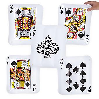 Inflatable Playing Cards, 5-pack