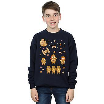 Star Wars Boys Gingerbread Empire Sweatshirt