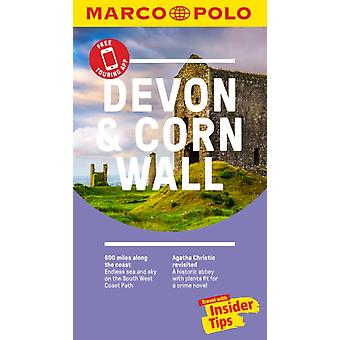 Devon and Cornwall Marco Polo Pocket Travel Guide  with pul