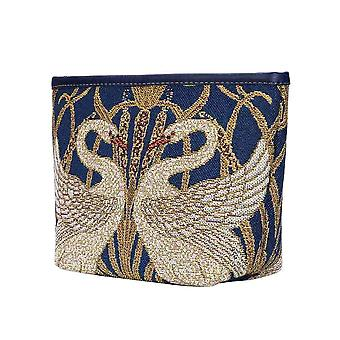 Walter Kran-Schwanen-Make-up-Tasche von Signare Tapisserien/Make-up-art-wc-swan