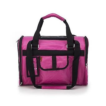 Prefer Pets Jet Travel Carriers For Dogs & Cats (Pink Fuchsia)