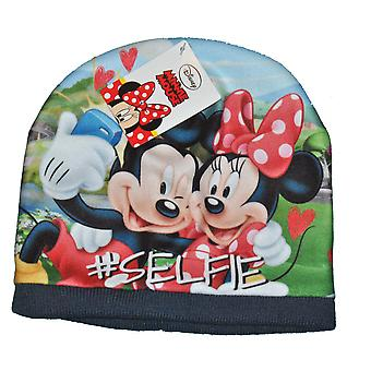 Mickey and Minnie Cap - Blue