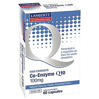 Lamberts Co-Enzyme Q10 60 tablets - 100 mg