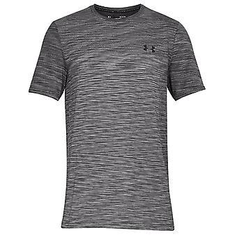 Under Armour forsvinne sømløs mens RunningTraining fitness T-skjorte grå