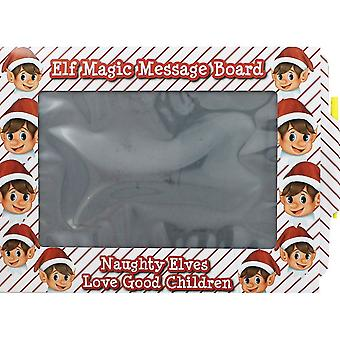 Elves Behavin Badly Elf Magic Slate Message Board