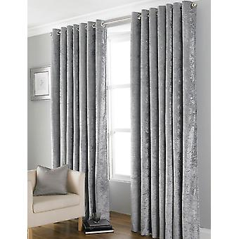 "Country Club Bliss Curtains, Grey 66"" x 72"""