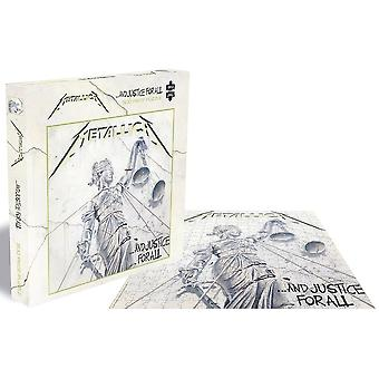 Metallica ...And Justice For All 500 piece jigsaw puzzle 410mm x 410mm (ze)