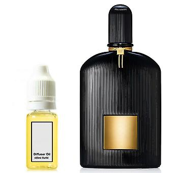 Tom Ford Black Orchid For Him Inspired Fragrance 100ml Refill Essential Diffuser Oil Burner Scent Diffuser