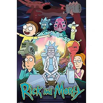 Rick And Morty Poster Season 4 100