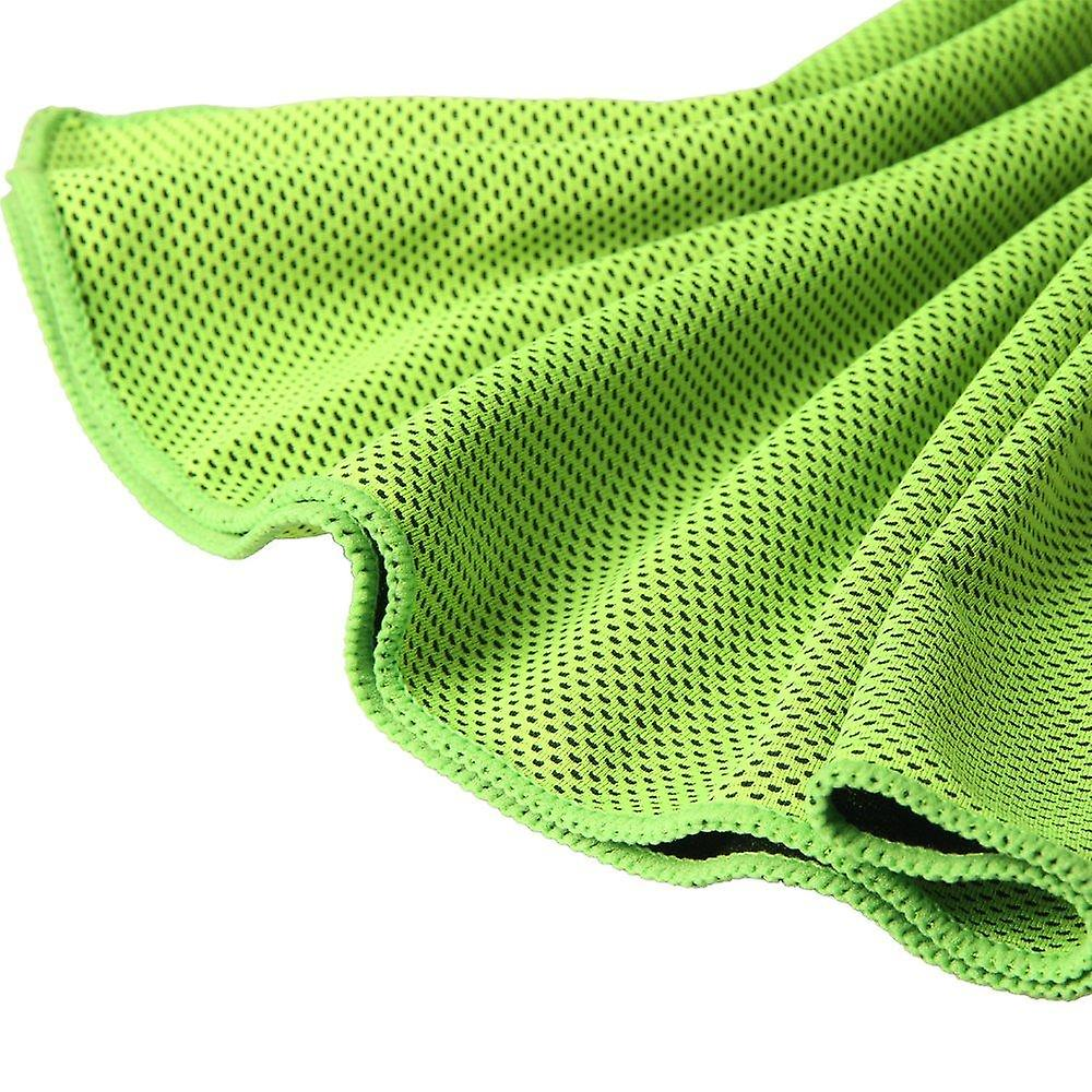Tritina cool towel neck wrap, green