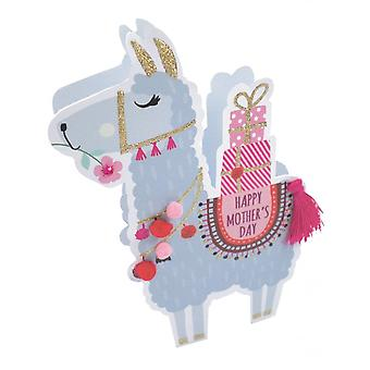 Second Nature Paper Dazzle 3d Pop Out Llama Happy Mothers Day Card