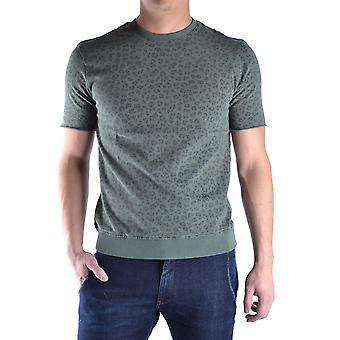 Daniele Alessandrini Ezbc107222 Miehet's Vihreä Puuvilla T-paita