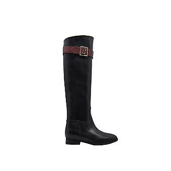 L'autre Koos voor Ldk06020cc2840g471 Dames's Black Leather Boots