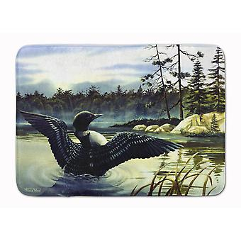 Carolines Treasures  PTW2059RUG Loon Country Machine Washable Memory Foam Mat