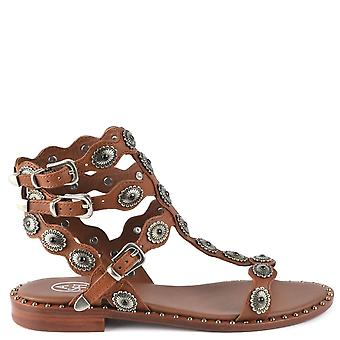 Ash PHOENIX Sandals Brown Leather