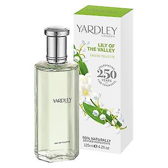 Yardley London Eau de Toilette - Lily of the Valley - parfum floral élégant avec lis de la vallée 125 ml