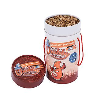 1.5kg tub of chubby dried mealworms