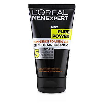 Men expert pure power foaming gel 236319 150ml/5oz