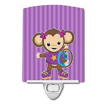 Carolines Treasures BB7017CNL Monkey met rugzak Keramische Night Light
