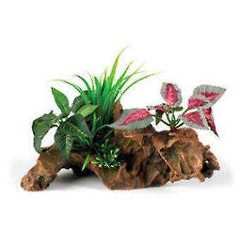Classic For Pets Gnarled Wood Garden 210mm (Fish , Decoration , Artificitial Plants)