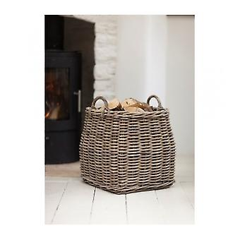 Garden Trading Tapered Rattan Log Basket