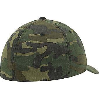 Flexfit Garment Washed Camo Baseball Cap (Pack of 2)