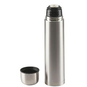 TechBrands 1L Stainless Steel Double Liquid Vacuum Flask