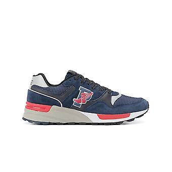Ralph Lauren Ezcr012027 Men's Blue Suede Sneakers