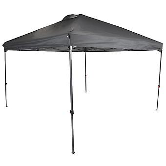 Charles Bentley 3 x 3m Pop Up Gazebo Facile un Assemblaggio Touch con Carry Bag impermeabile - Grigio W300 x L300cm
