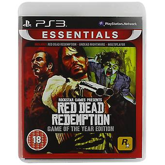 Red Dead Redemption - juego del año Essentials Edition PS3