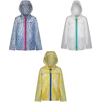 Regatta Great Outdoors Childrens/Girls Epping Hooded Rain Mac