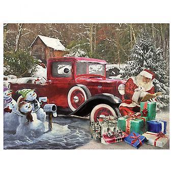 Santa & Truck 1000 Piece Jigsaw Puzzle