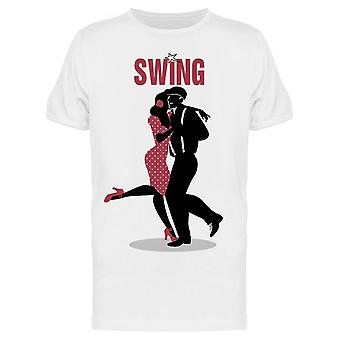 Couple Dancing Balboa Tee Men's -Image by Shutterstock