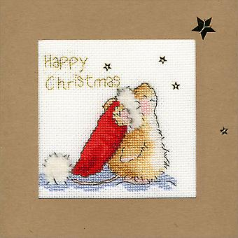 Bothy Threads Cross Stitch Card Kit - Star Gazing