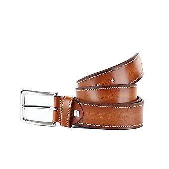Cognac Colorful Casual Men's Belt