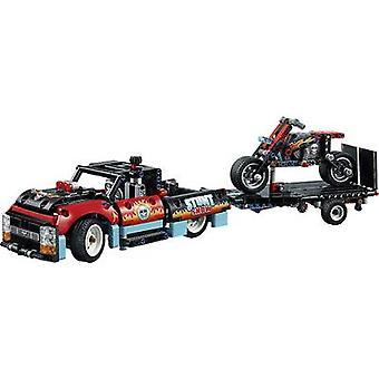 42106 LEGO® TECHNIC عرض حيلة مع شاحنة ودراجة نارية
