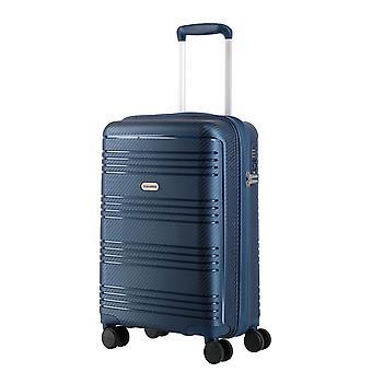 travelite Zenit Bagage à main Trolley S, 4 roues, 55 cm, 36 L, bleu