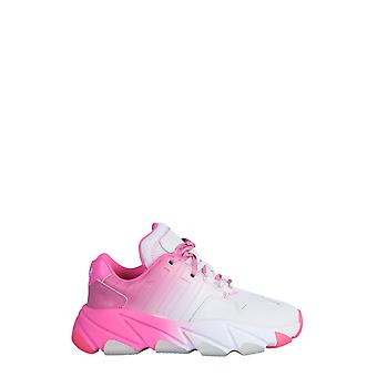 Ash Extasy009 Women's White/pink Leather Sneakers