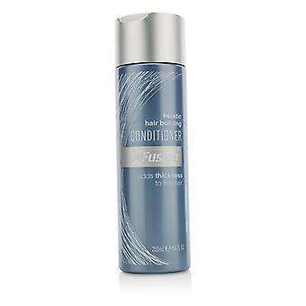 XFusion Keratin Hair Building Conditioner (Adds Thickness to Thin Hair) 250ml/8.4oz