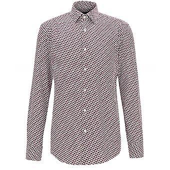 BOSS Slim Fit Geometric Print Jango Shirt
